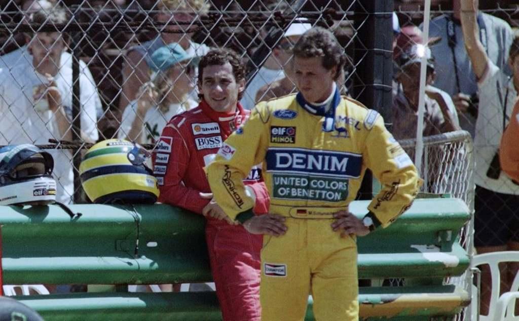 Schumachert nagyon megviselte Senna halála