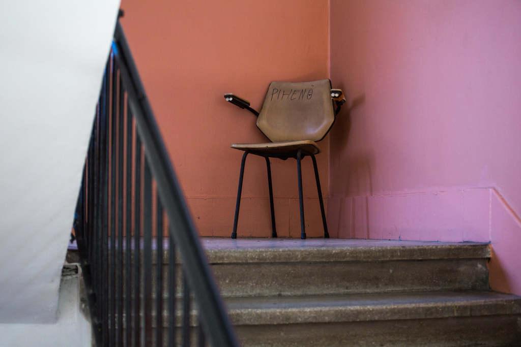 Székfoglaló lépcsőház módra