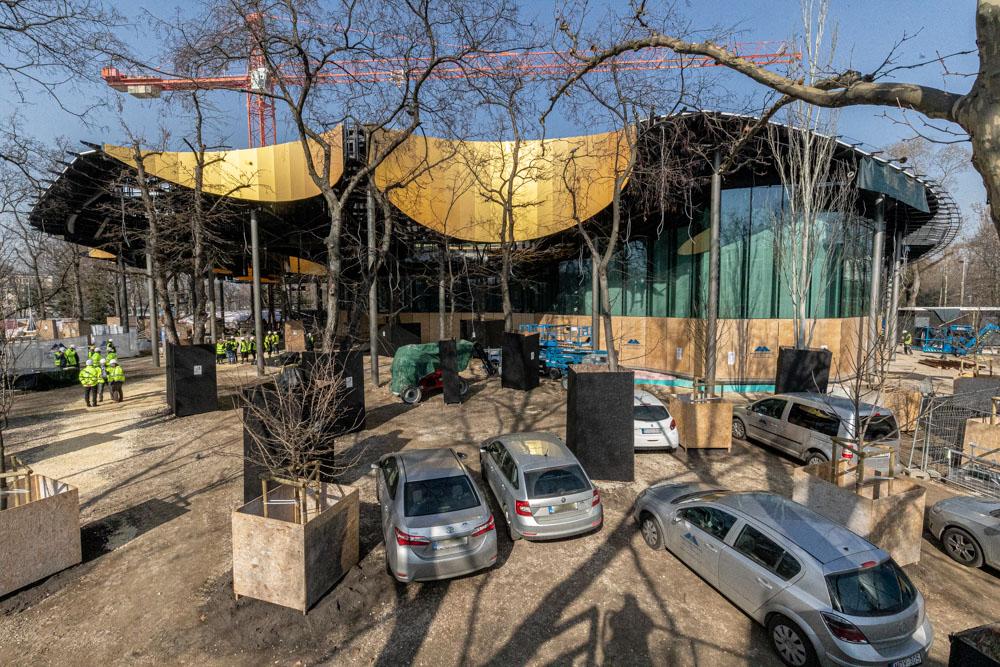 Az épülő Magyar Zene háza