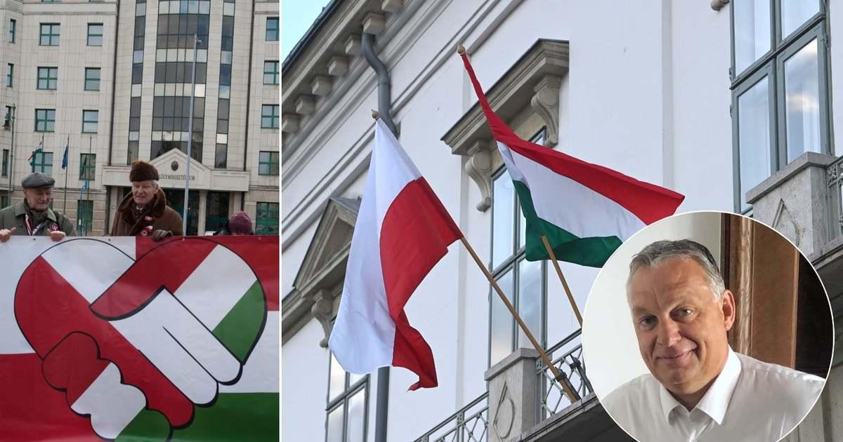 Orbán Viktor ezzel a képpel ünnepli a magyar-lengyel barátságot