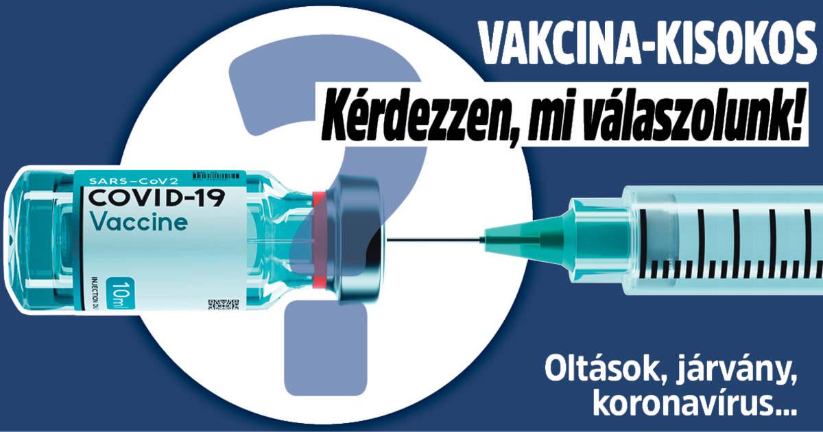 Vakcina-kisokos: ti kérdeztetek, mi válaszoltunk!