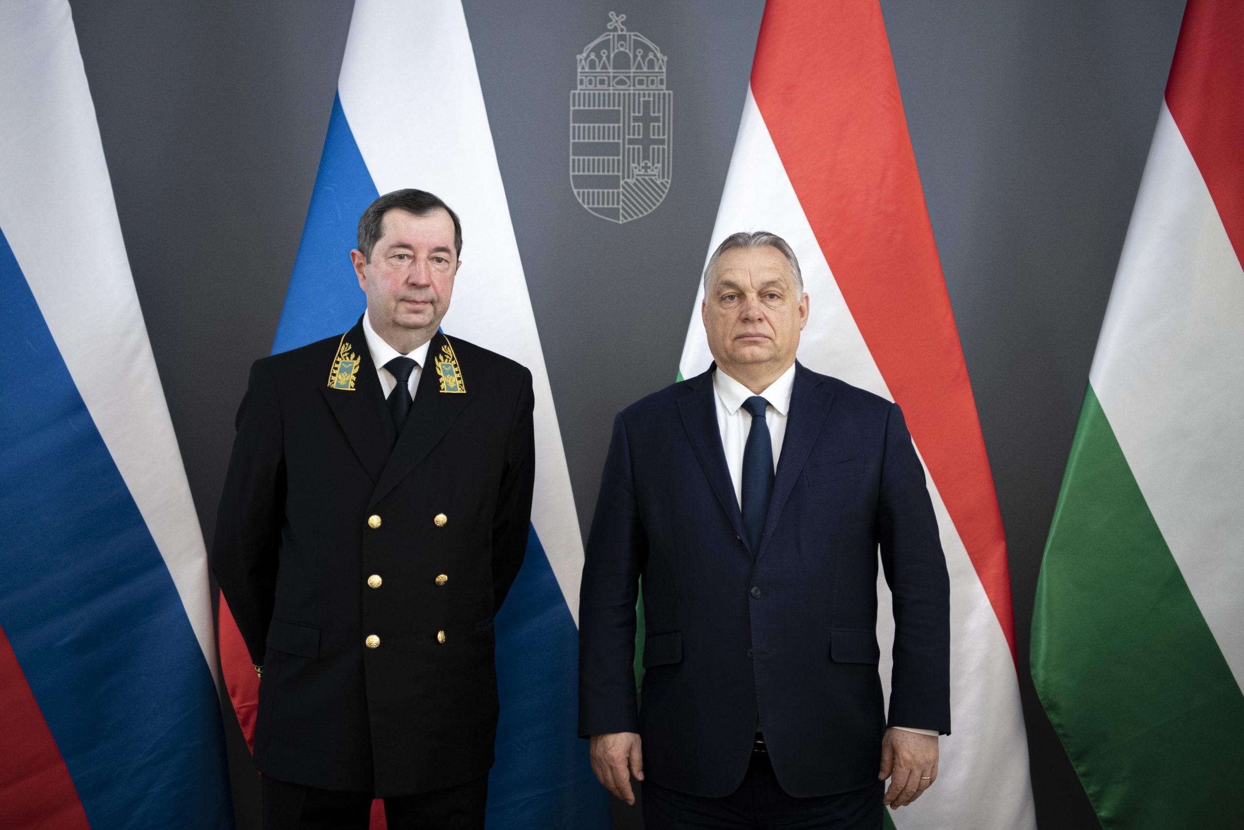 ORBÁN Viktor és Vlagyimir Szergejev