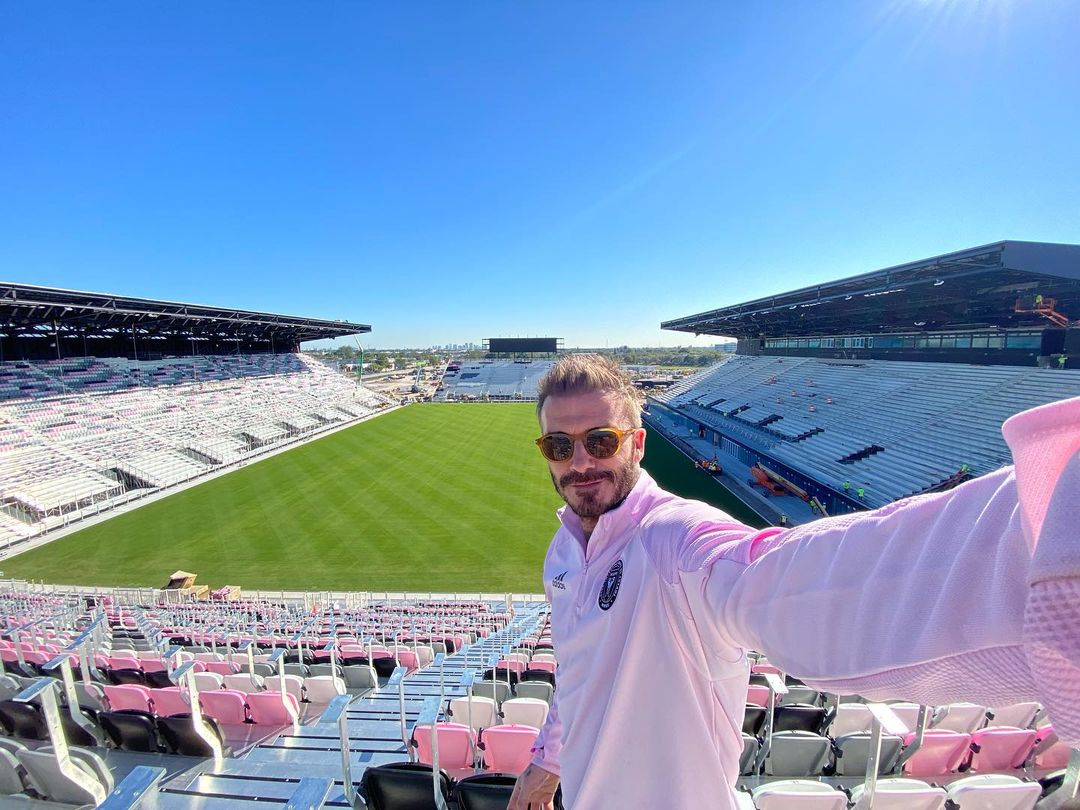 Beckham a legnagyobbakat várja Miamiba