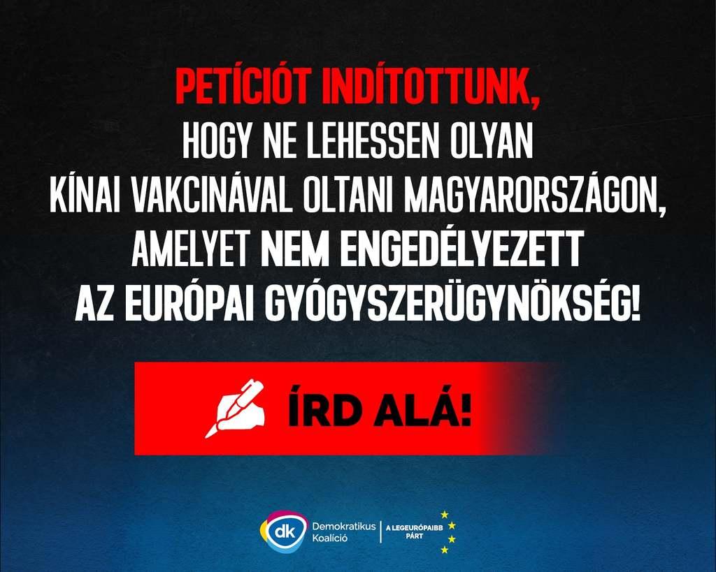 Hónapok óta kampányolnak az oltás ellen, emberéletekkel játszik Gyurcsány pártja
