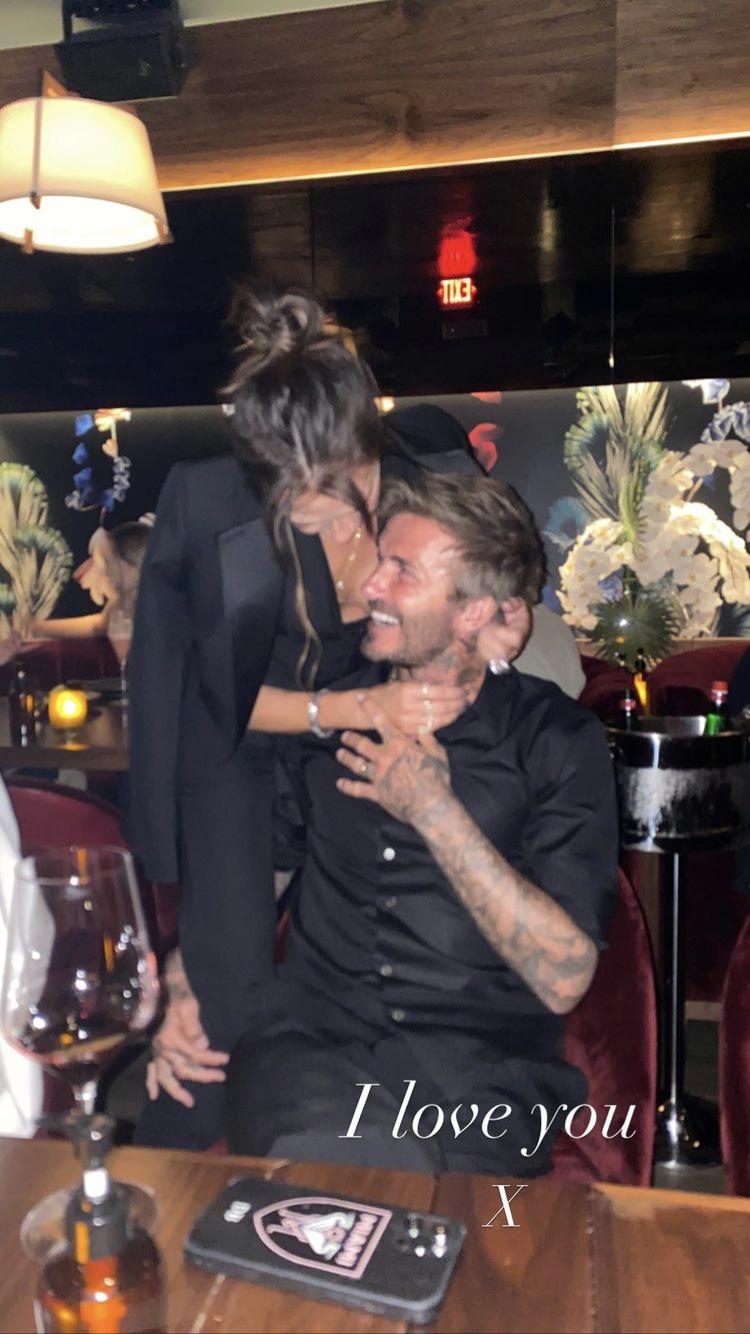 A Beckham-házaspár között dúl a szerelem