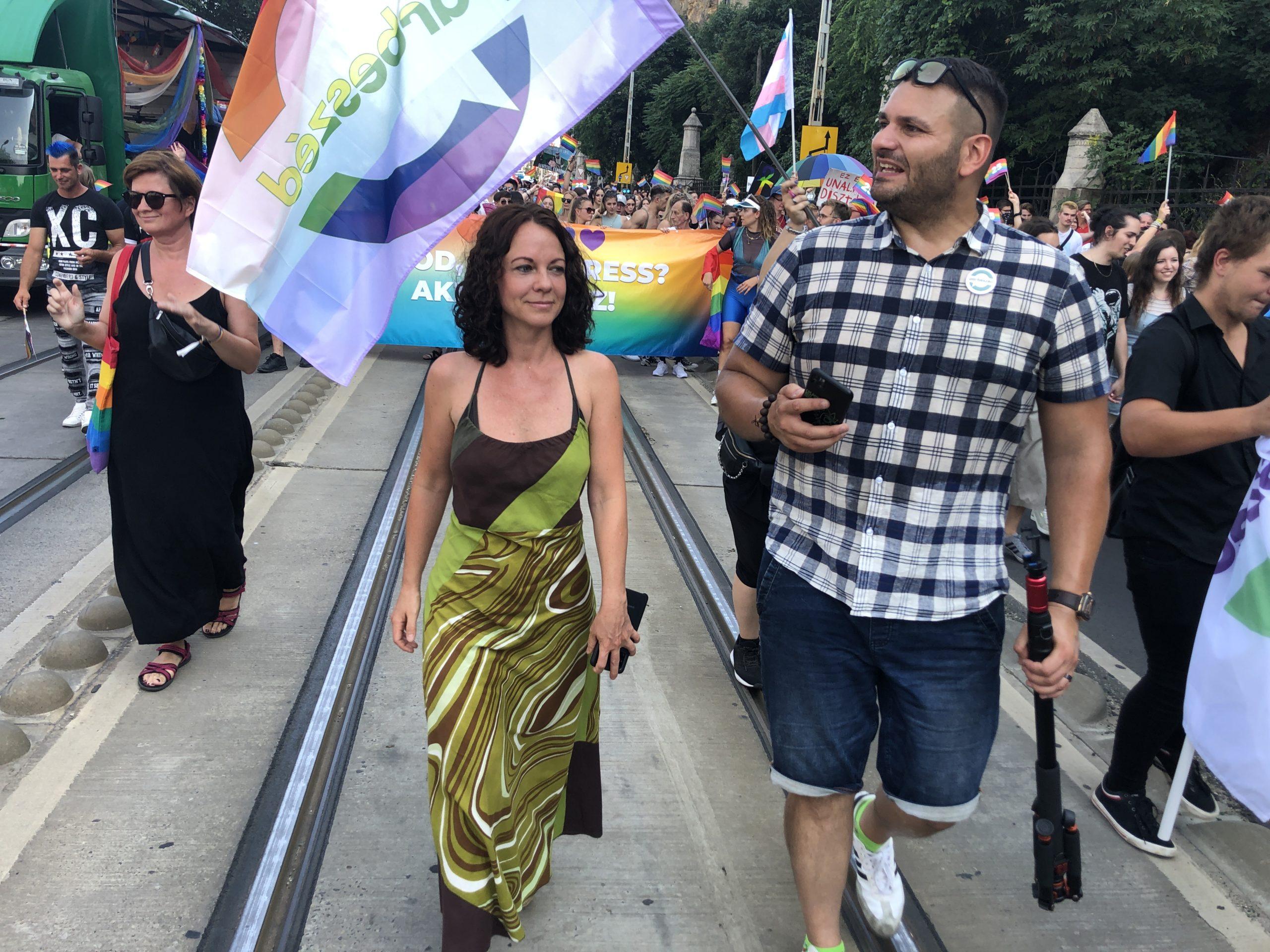 Szabó Tímea - Párbeszéd Magyarországért, Budapest Pride 2021
