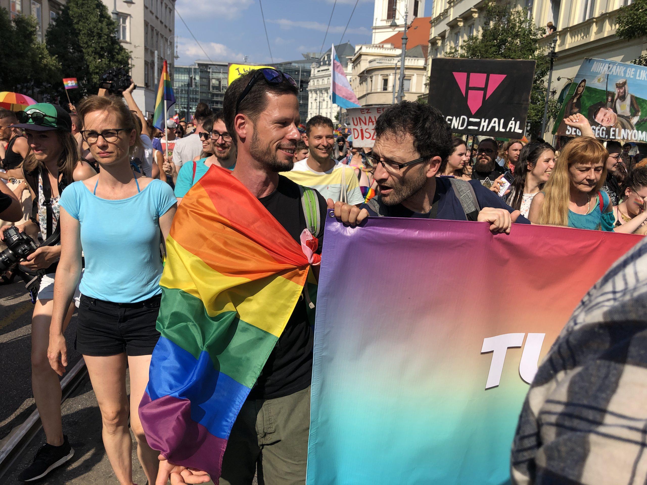 Tordai Bence - Párbeszéd Magyarországért, Budapest Pride 2021