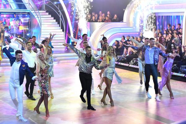 A Dancing with the Stars a Sztárban Sztár leszek! után a hét második legnézettebb műsora lett